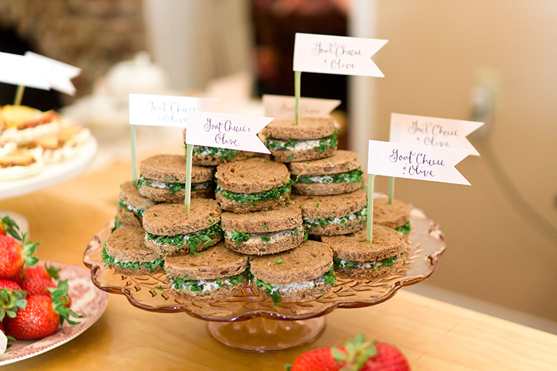 Best Tea Party Bridal Shower Ideas: Pretty Party Food: January 2011