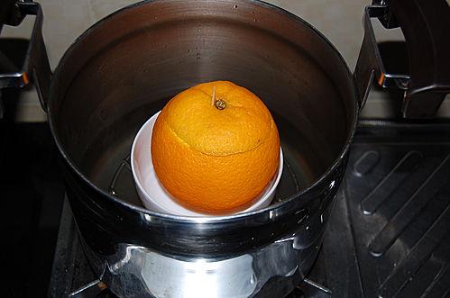 活得健康: 燉橙加鹽 - 寒咳或熱咳也可