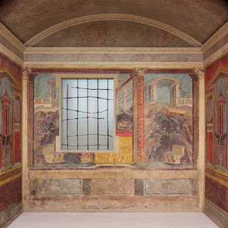 The Example Image That I Show Is From Samnite Villa Herculaneum This Wonderfully Preserved Wall Painting Shows Diffe Colored Blocks