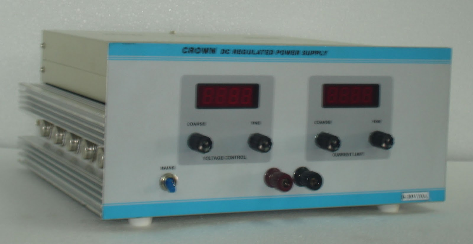Dc Regulated Power Supply 0 30v 10a Manufacturers India