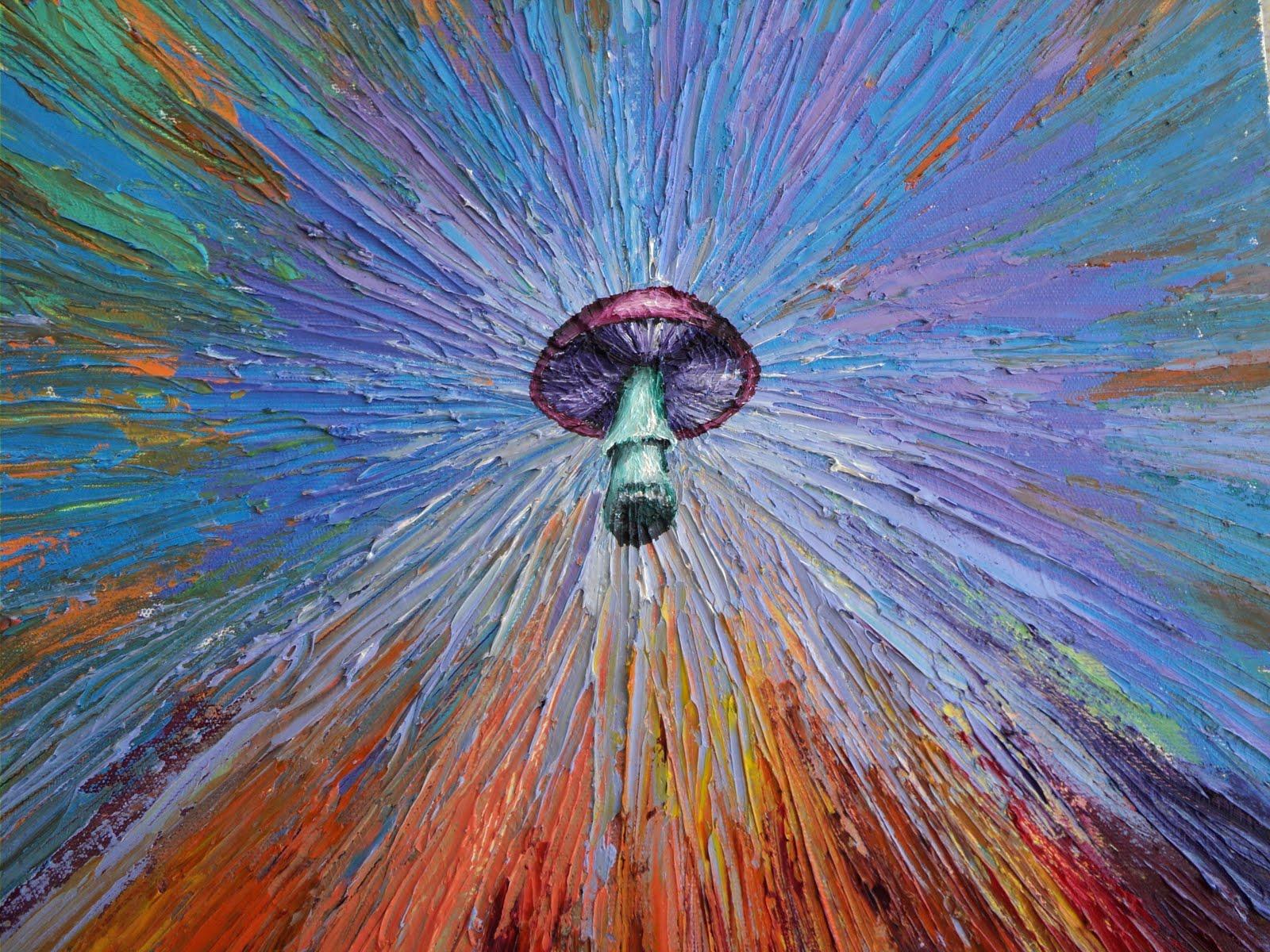 magic mushroom art - photo #40