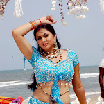Namitha Latest Photo Gallery In Blue Dress