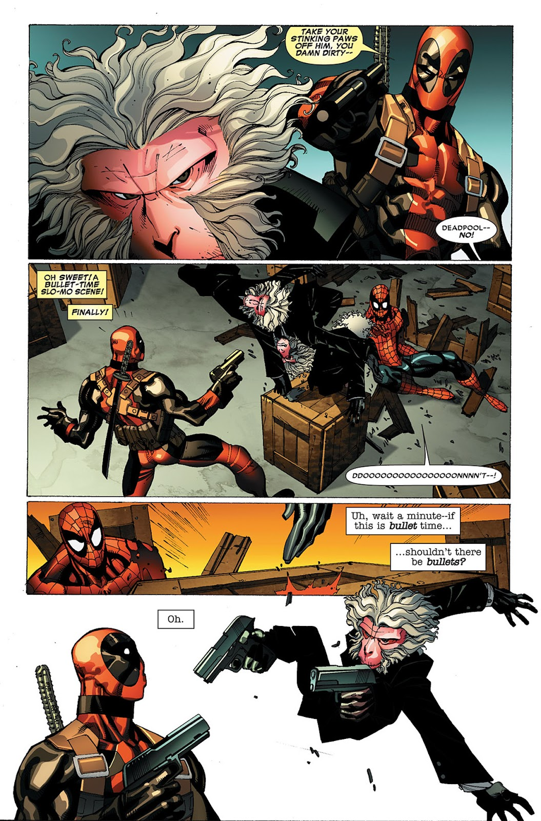 Read online Deadpool (2008) comic -  Issue #20 - 23