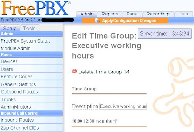 FreePBX Time Groups and Time Conditions Explained | VOIP IP