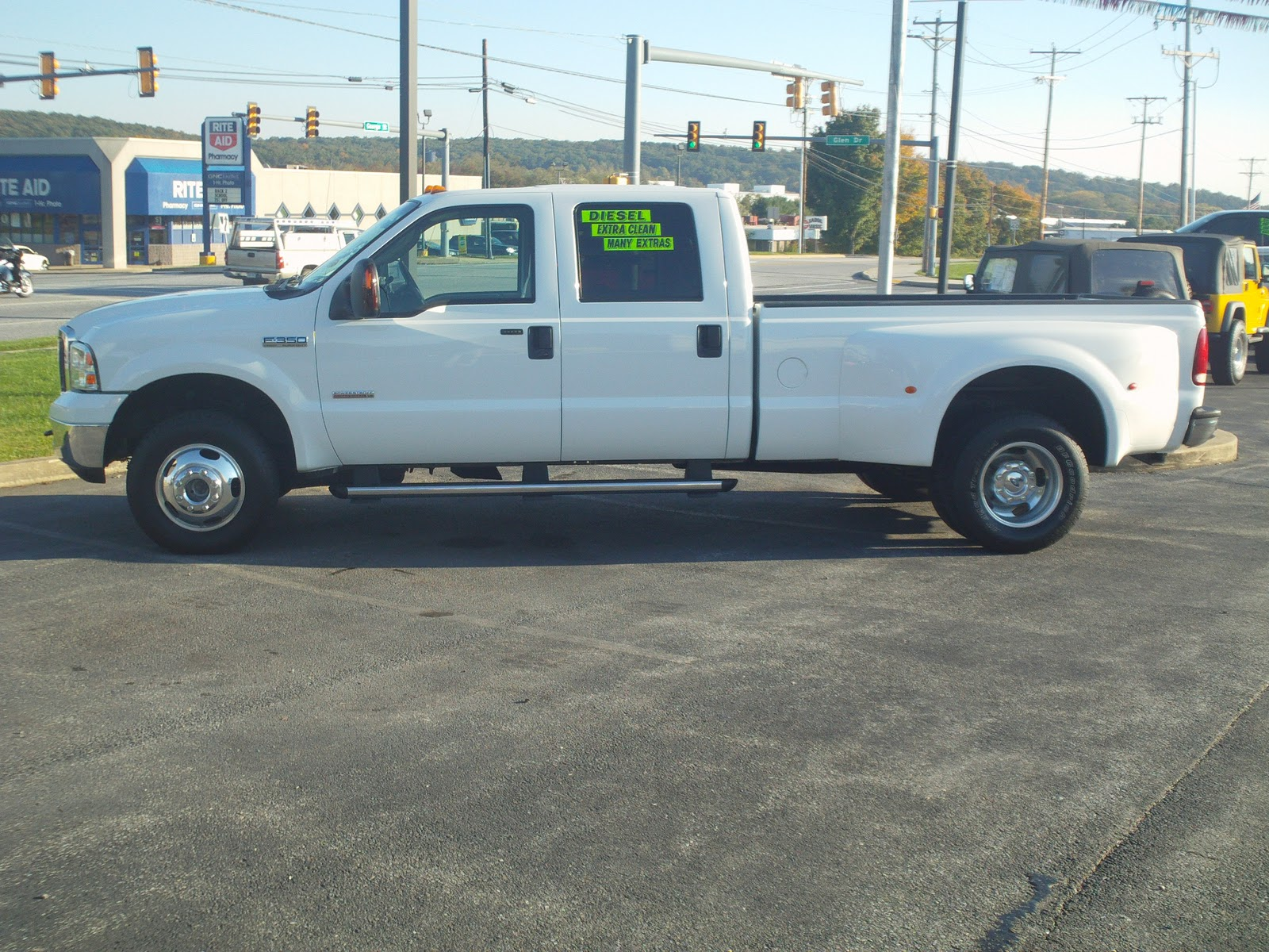 2006 Ford F350 Diesel 4x4 Truck W Dew Eze Hay Bale Pick  2006 F350 Dually Pics | Autos Post