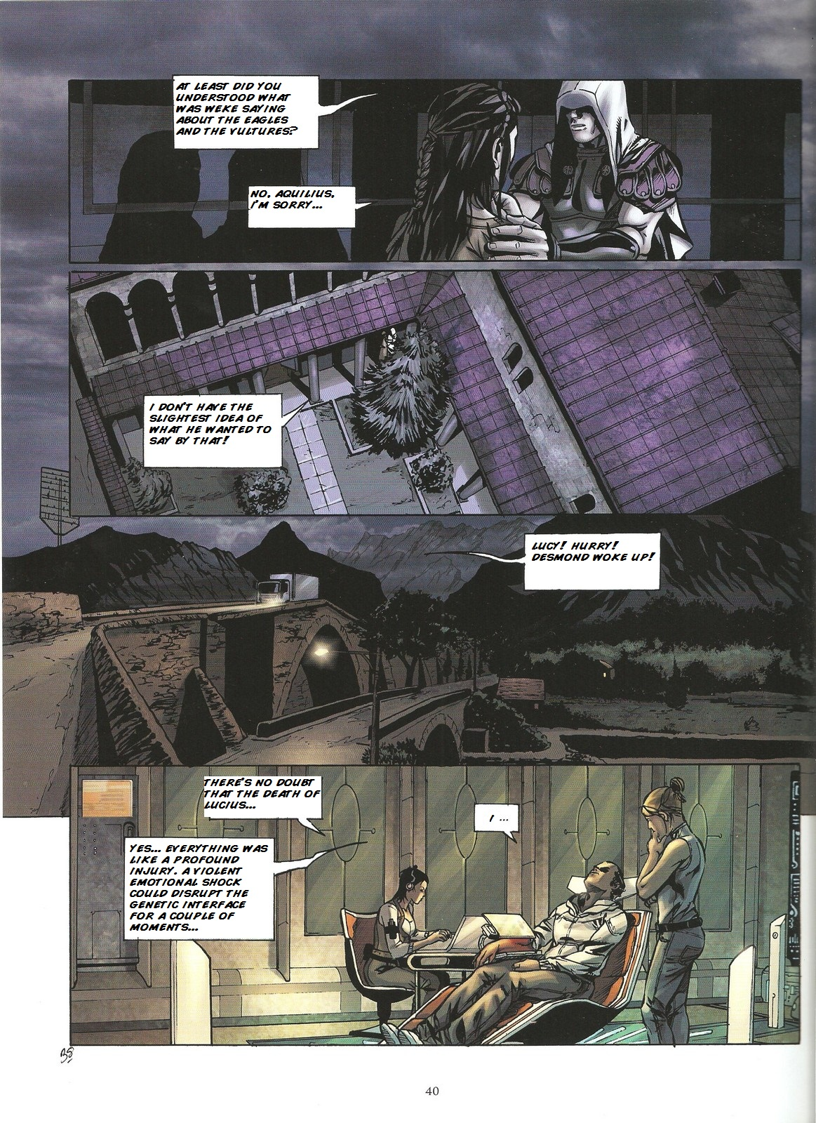 Read online Assassin's Creed (2009) comic -  Issue #2 - 40