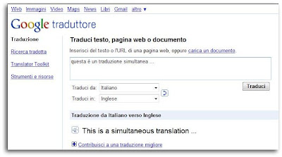 traduttore simultaneo latino
