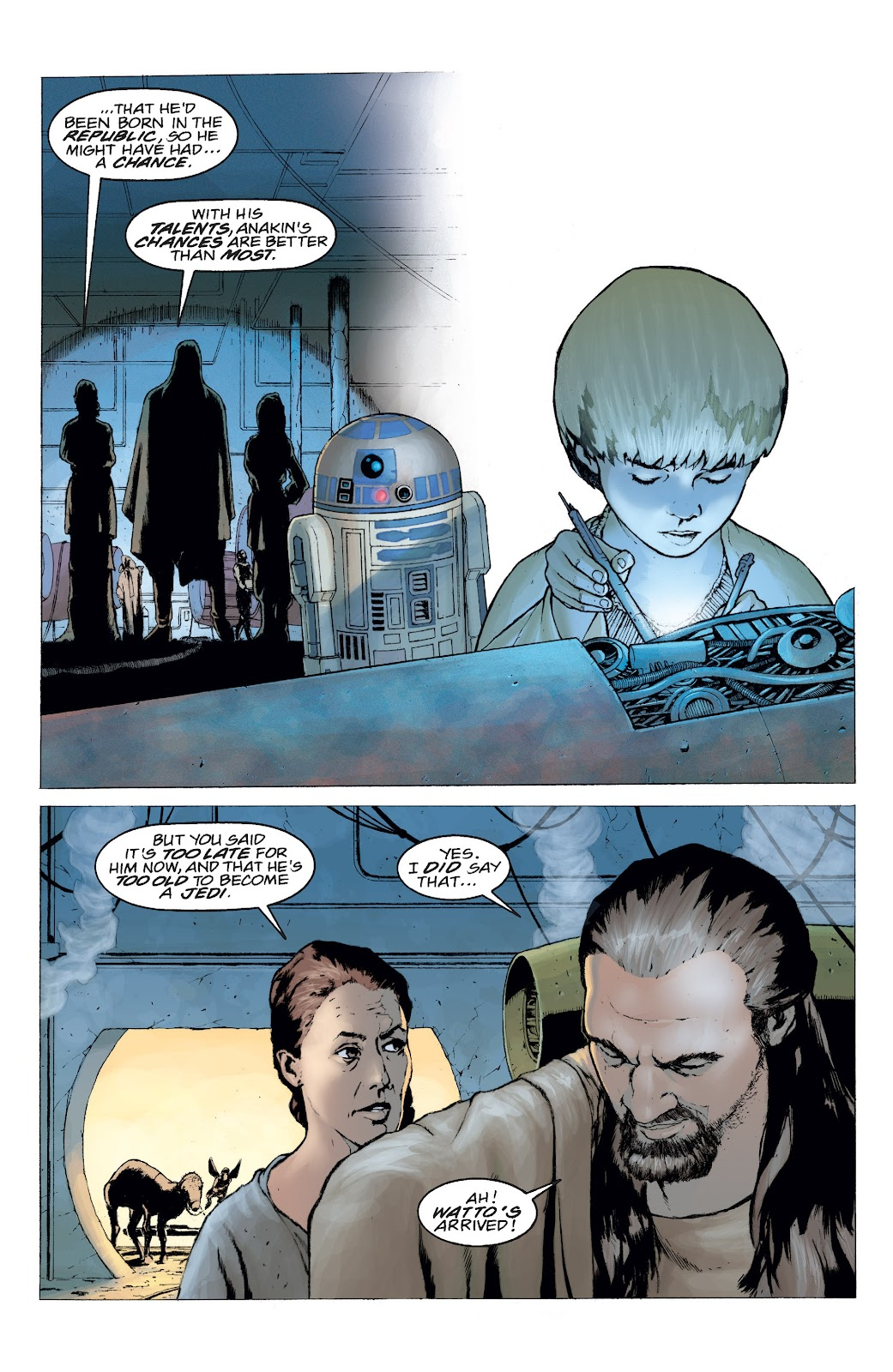 Read online Star Wars Legends: Rise of the Sith - Epic Collection comic -  Issue # TPB 2 (Part 4) - 95