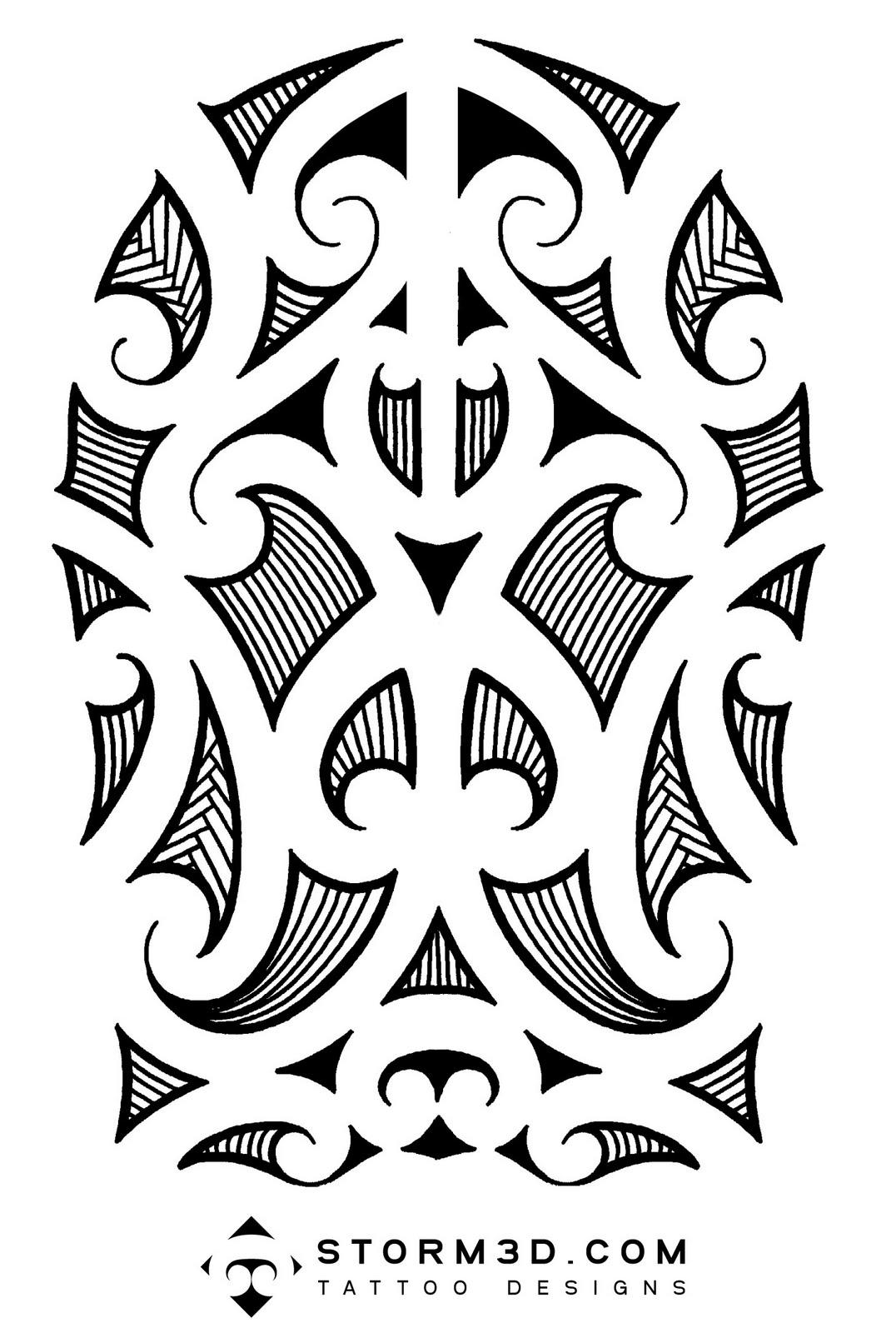 Inked Tattoo Design: Maori Tattoo Design