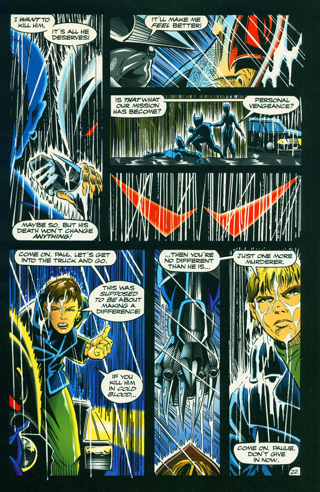 Read online ShadowHawk comic -  Issue #6 - 29