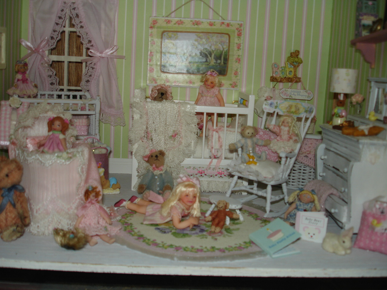Miniature Nursery By Kim Saulter