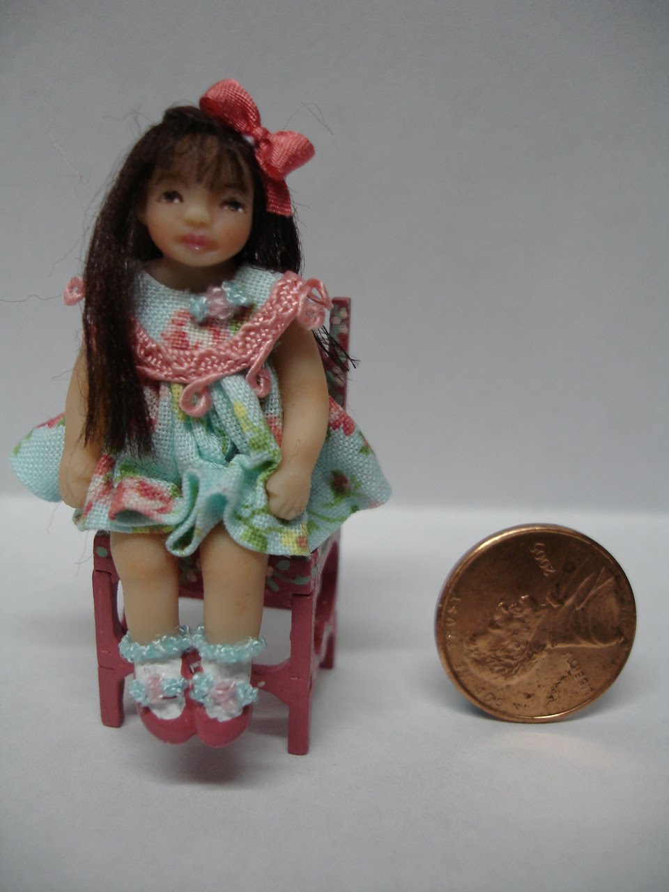 Miniature Dolls by Bonnie Justice: My Hand Sculpted Dolls