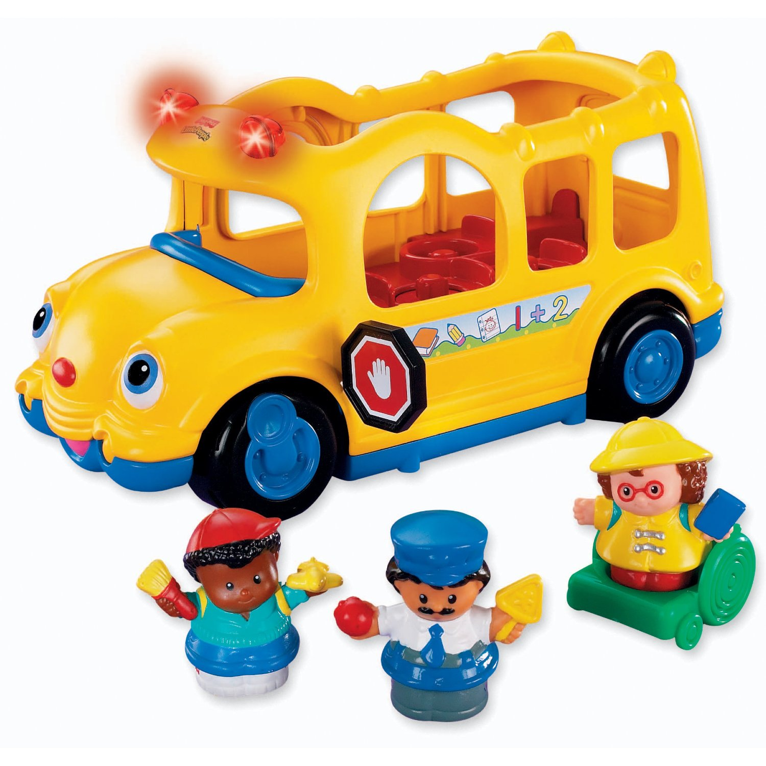 fisher price little people school bus airplane. Black Bedroom Furniture Sets. Home Design Ideas
