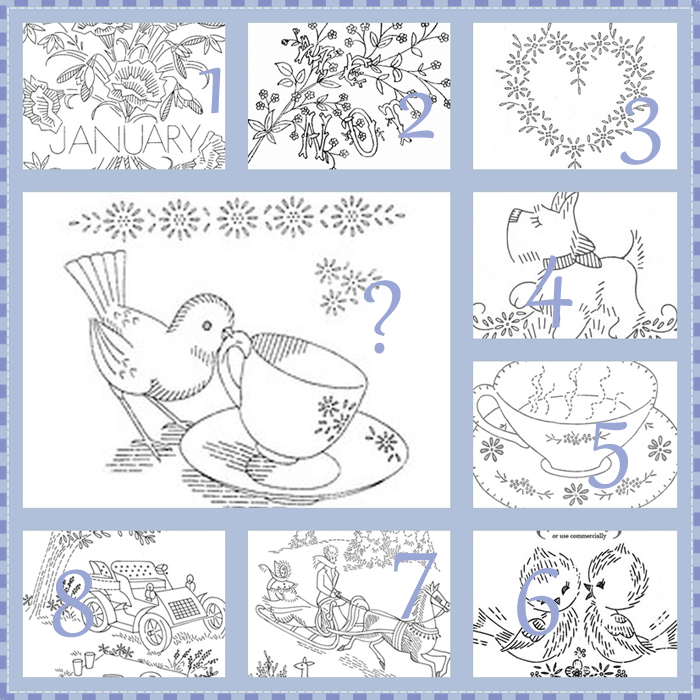 A Haven For Vee Embroidery Patternsmosaic Monday