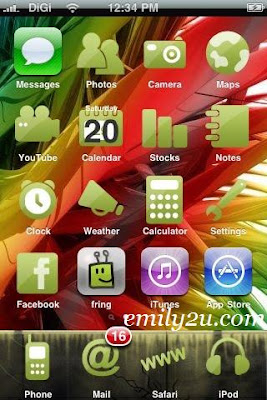 Download Go Green iPhone Skin | From Emily To You