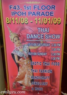 Thai Fair in Ipoh Parade