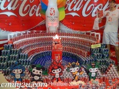 Beijing 2008 Official Mascots: BeiBei, JingJing, HuanHuan, YingYing and NiNi