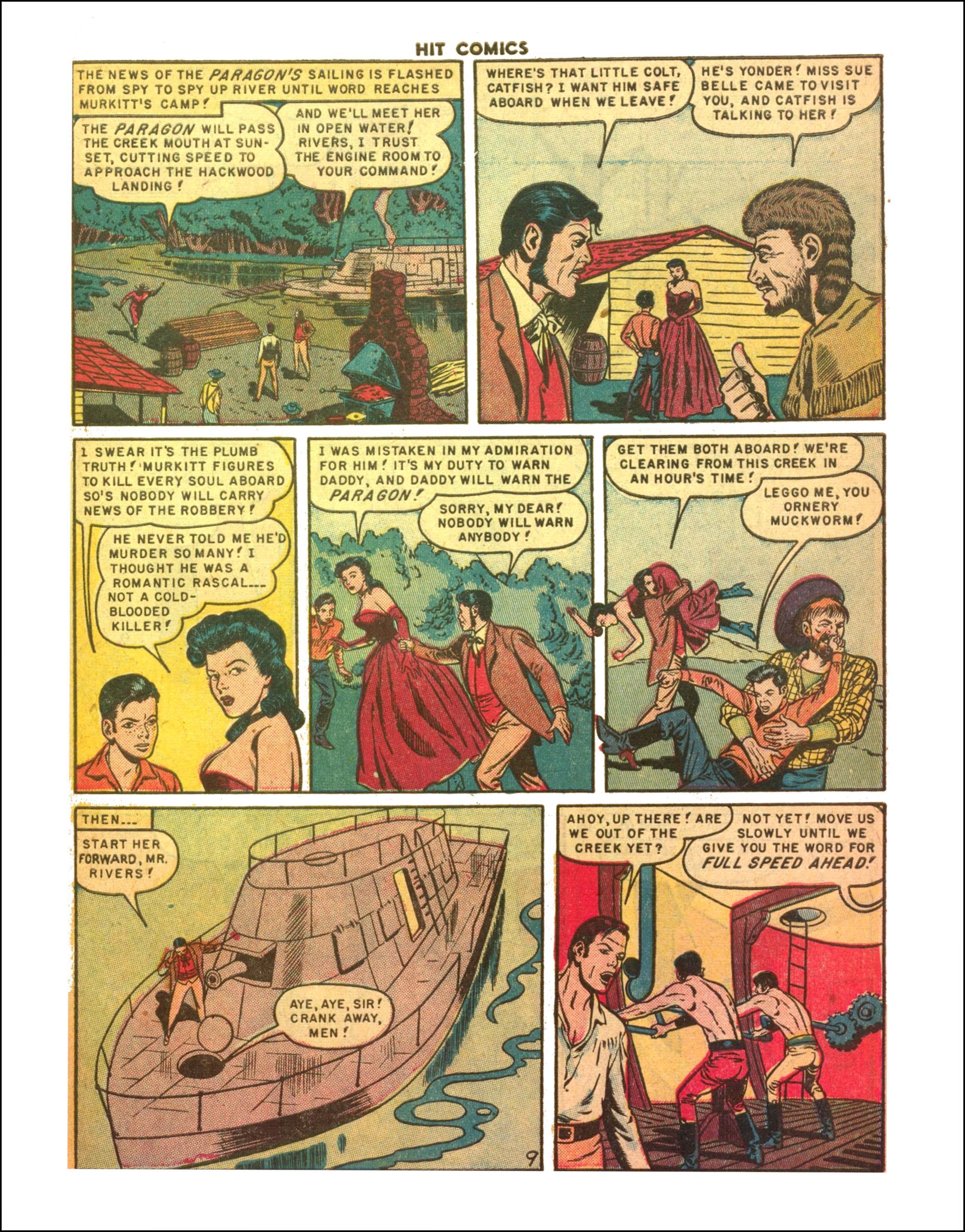 Read online Hit Comics comic -  Issue #65 - 11