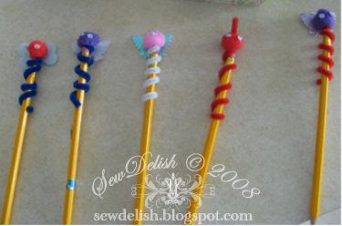 birthday craft party pencil buddies make