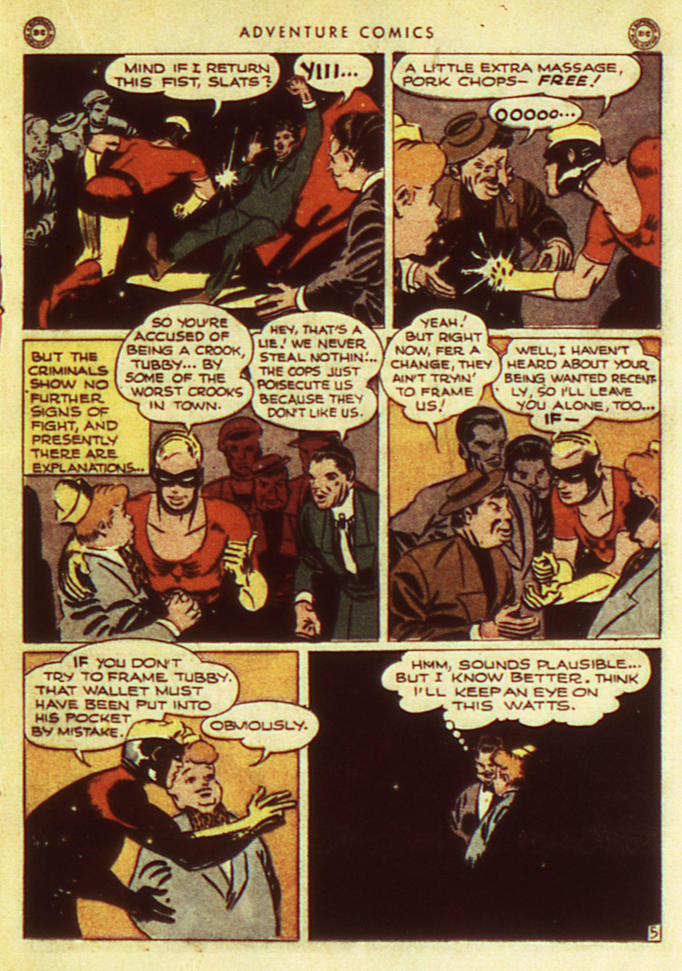 Read online Adventure Comics (1938) comic -  Issue #105 - 25