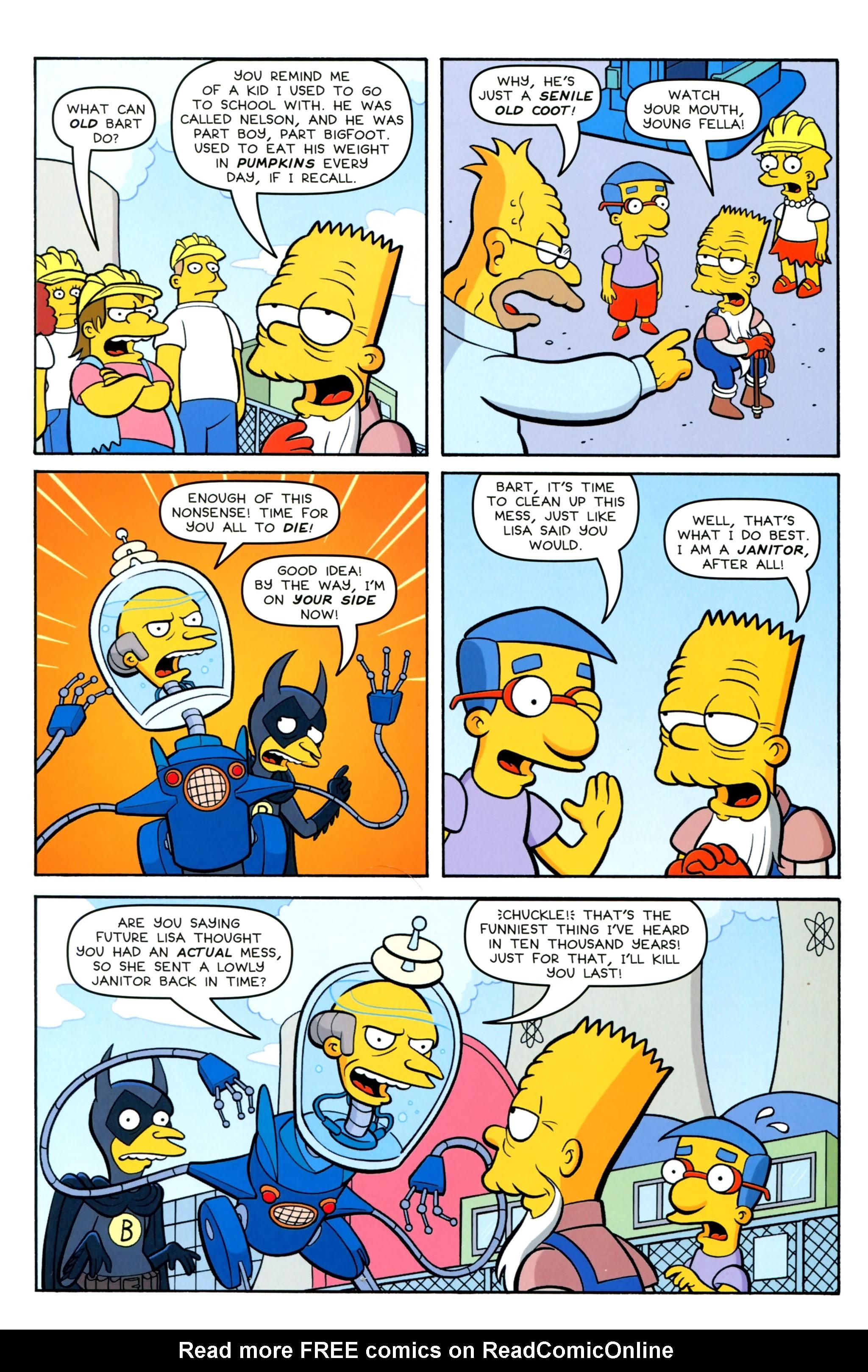 Read online Simpsons Comics Presents Bart Simpson comic -  Issue #100 - 36