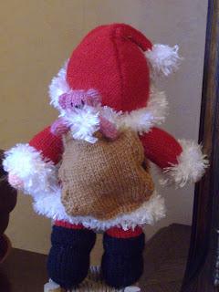 Du Tricot Et Des Jouets Le Père Noël