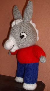 tricoter l'ane trotro