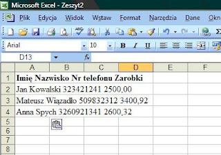 Kurs Excel W Praktyce Importowanie Danych Czyli Zamiana