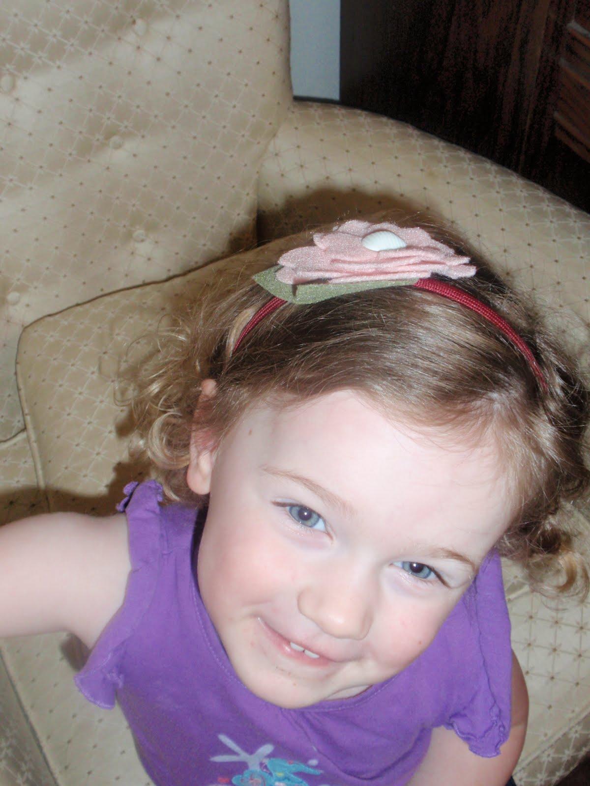 Diary Of A Crafty Lady Felt Flowers For Hair Bows