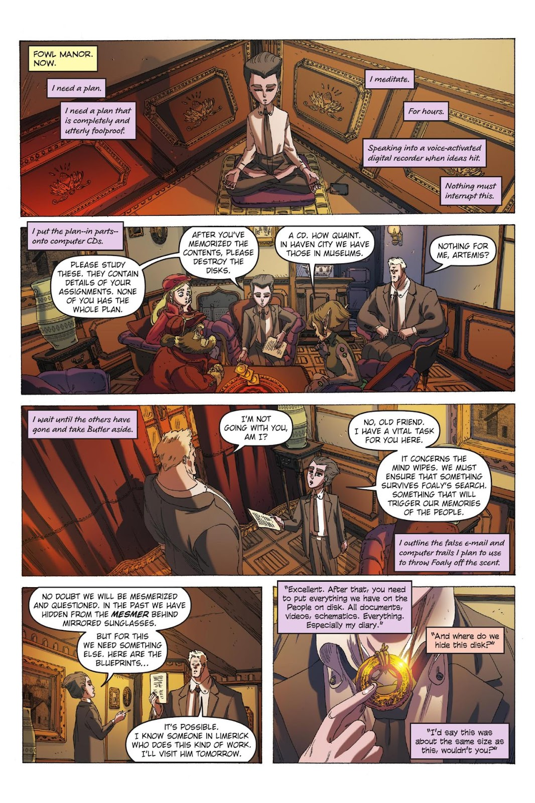 Artemis Fowl: The Eternity Code issue TPB - Page 68