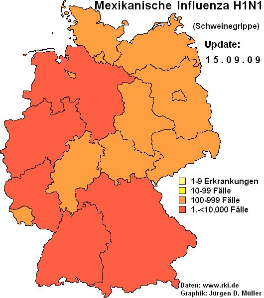Grippe Karte.Dies Ist Mein Blog Archiv Archiv Influenza A H1n1 In Deutschland