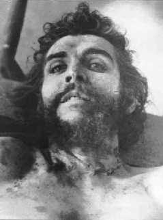 Dead Che, source unknown, from the collection of the author