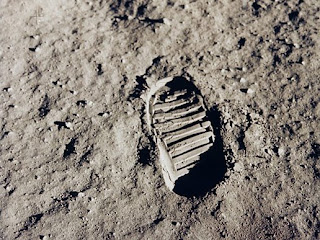 Apollo 11 footprint