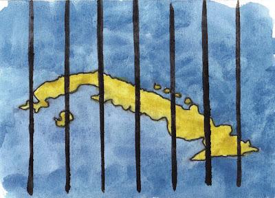 Cuba, jailed Island by Lenny Campello