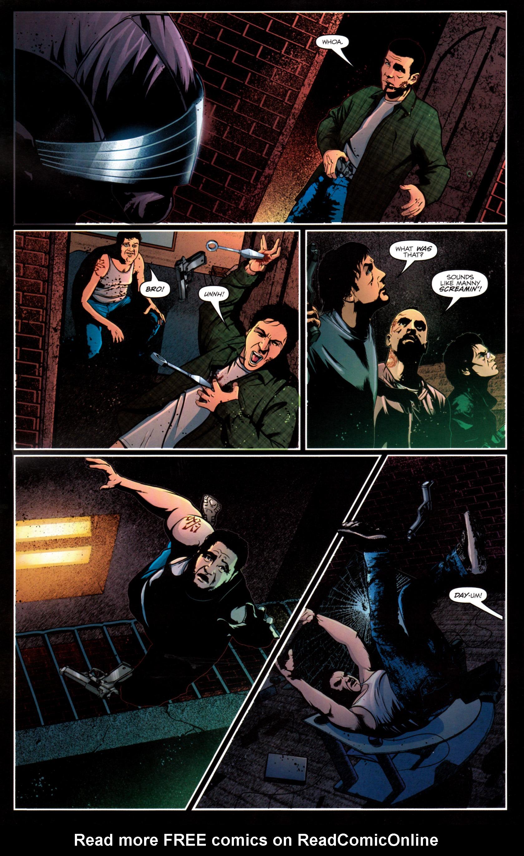 Read online G.I. Joe: Snake Eyes comic -  Issue #12 - 17