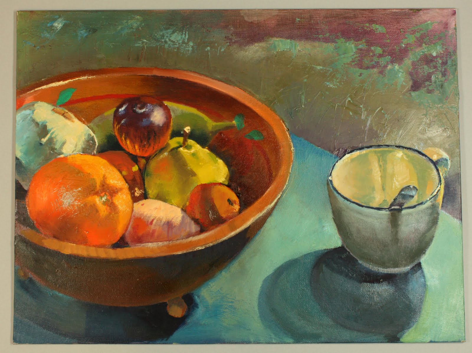 The gallery for --> Simple Fruit Bowl Painting