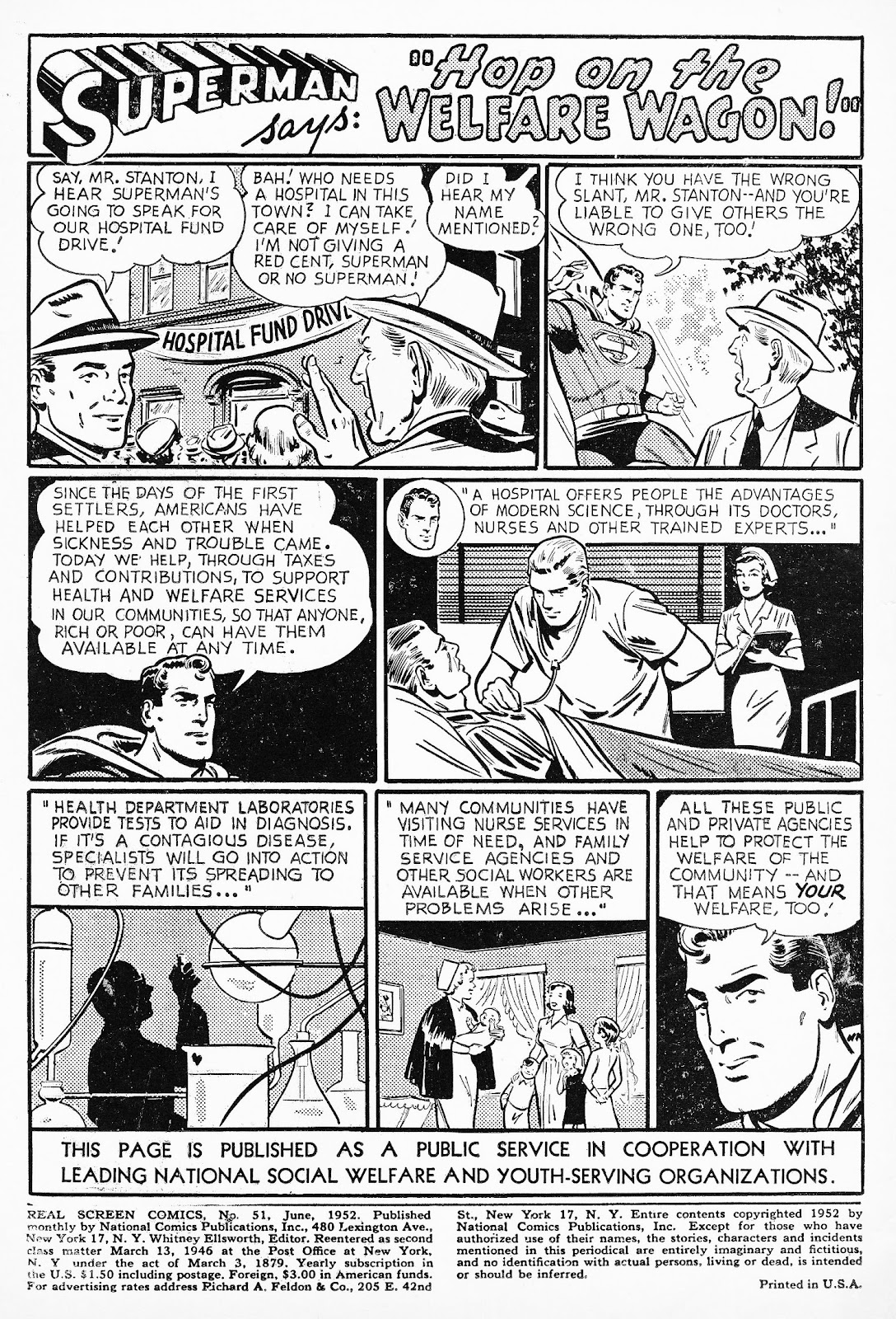 Real Screen Comics issue 51 - Page 2