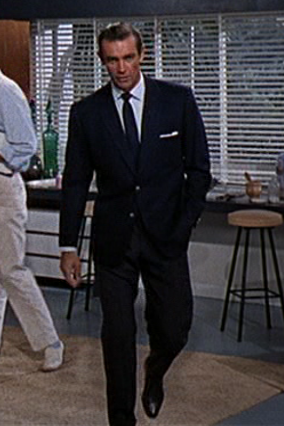 The Suits Of James Bond Sean Connery S Blazer