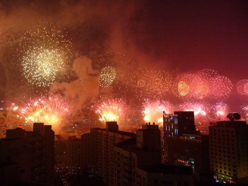 Fireworks in Beijing, China