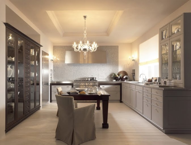 Cucina Bianca Moderna Con Tavolo Antico.Consigli Per La Casa E L Arredamento Come Abbinare Lo Stile