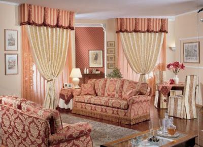 Consigli per la casa e l 39 arredamento come abbinare le for Tende casa classica