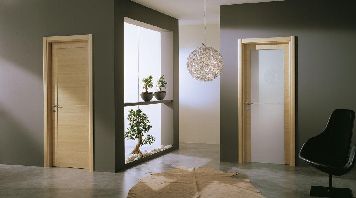 Come Pitturare Le Pareti Di Una Scala Interna consigli per la casa e l' arredamento: le porte in rovere