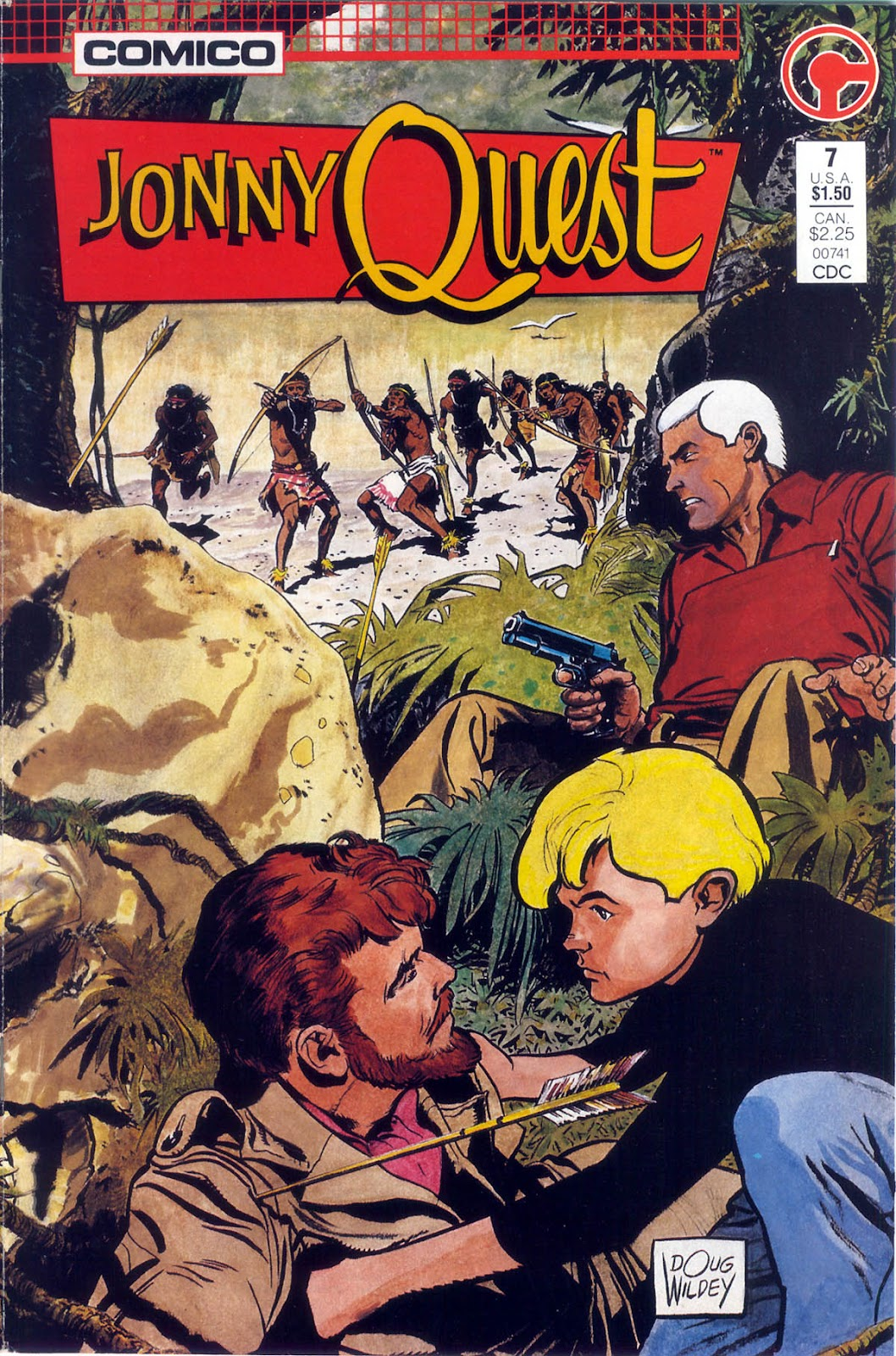 Jonny Quest (1986) issue 7 - Page 1