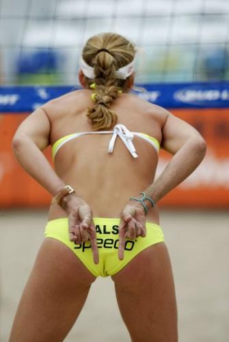 girls beach volleyball pussy shots