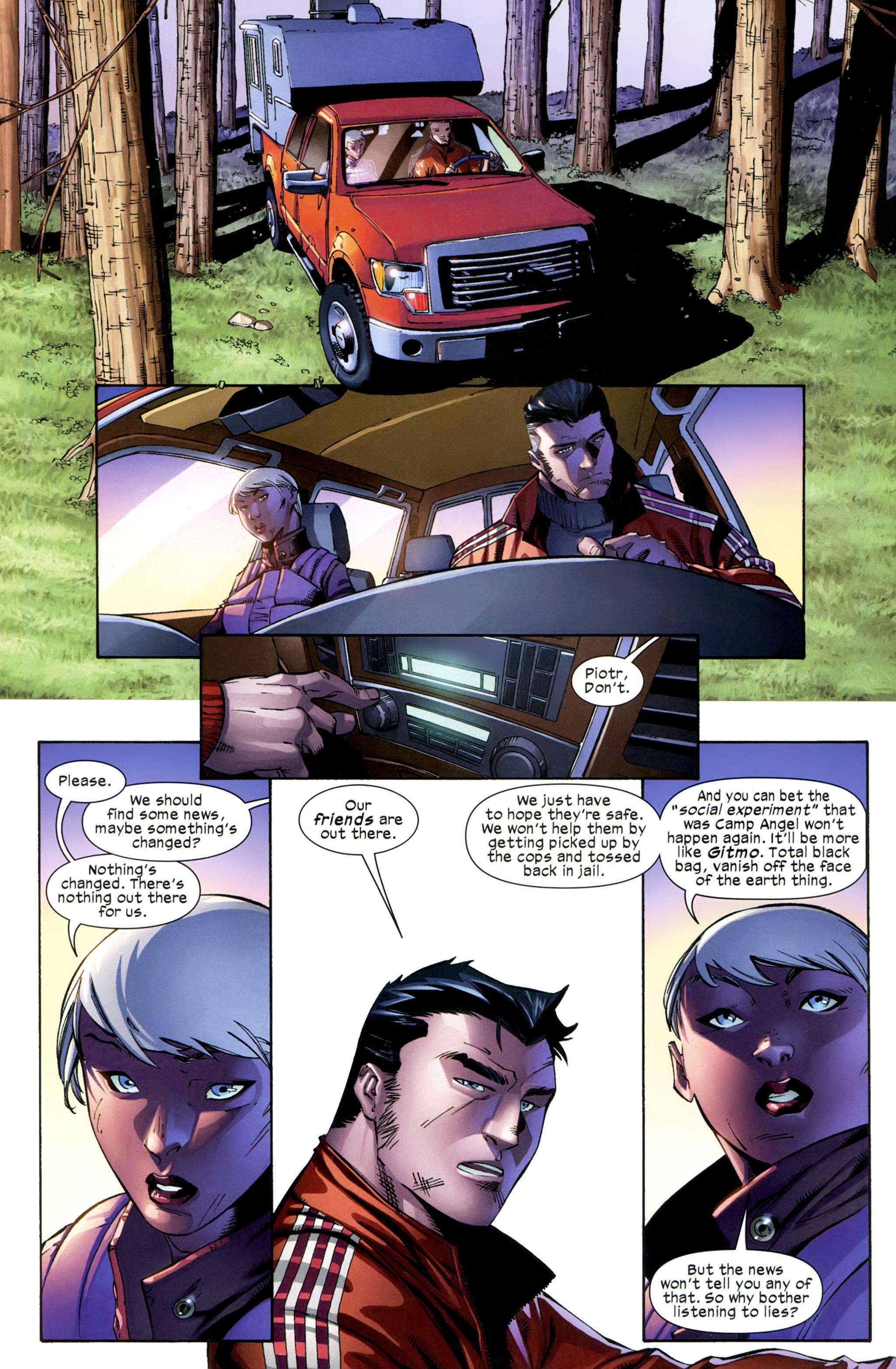 Read online Ultimate Comics X-Men comic -  Issue #23 - 7