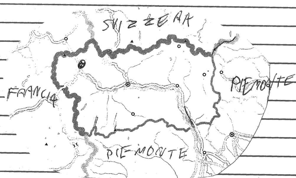 Cartina Valle D Aosta Muta.Mio Figlio A Scuola Non Ce Lo Mando Pagine Di Geografia Dal Quaderno Di Olmo