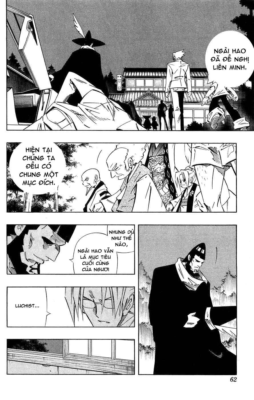 Shaman King [Vua pháp thuật] chap 260 trang 14