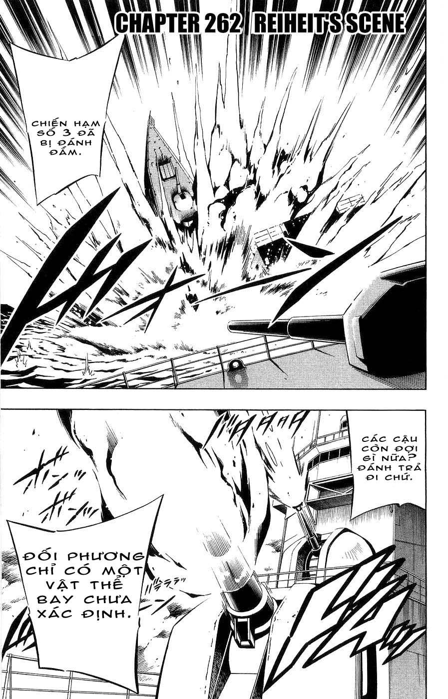 Shaman King [Vua pháp thuật] chap 262 trang 1