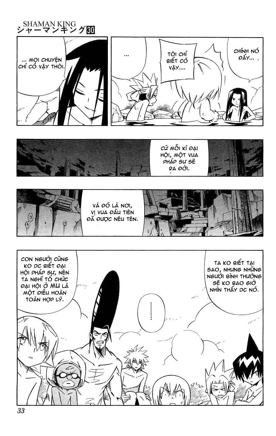 Shaman King [Vua pháp thuật] chap 259 trang 5
