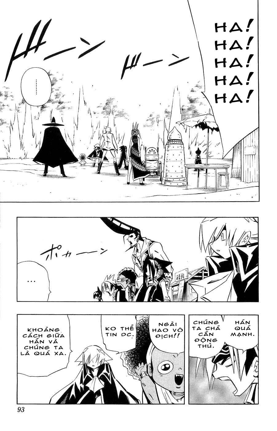 Shaman King [Vua pháp thuật] chap 262 trang 7